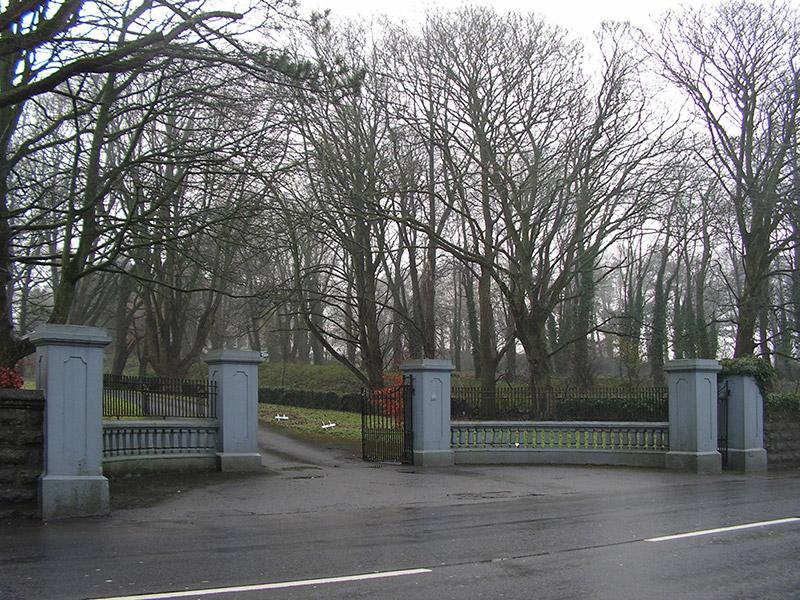 View of gateway.