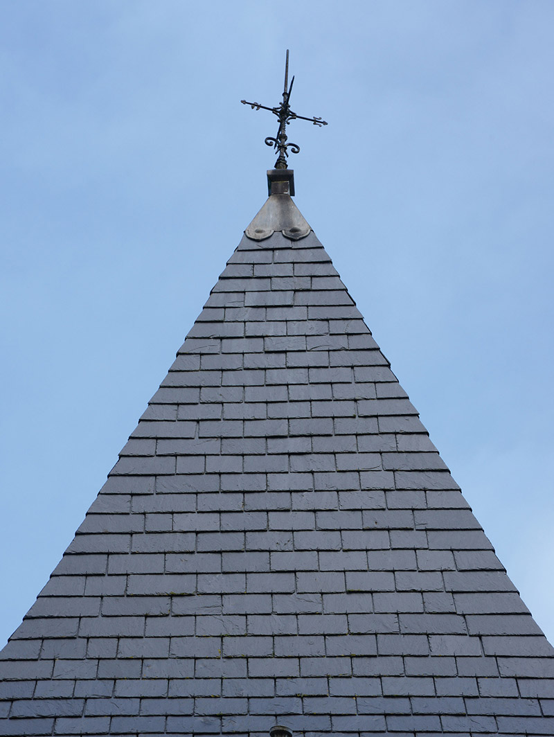 Detail of roof.  Photography by James Fraher