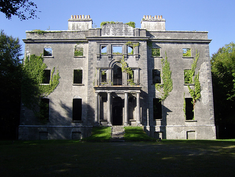 Representative view of country house.