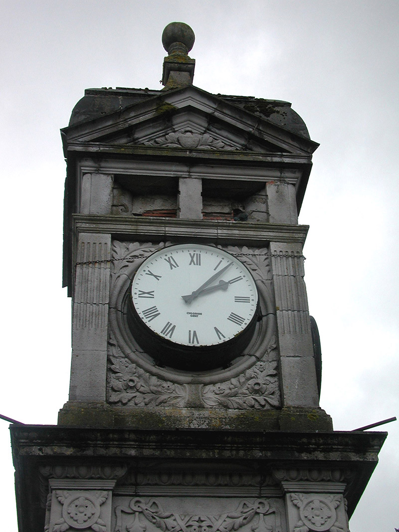 Detail of clock-face