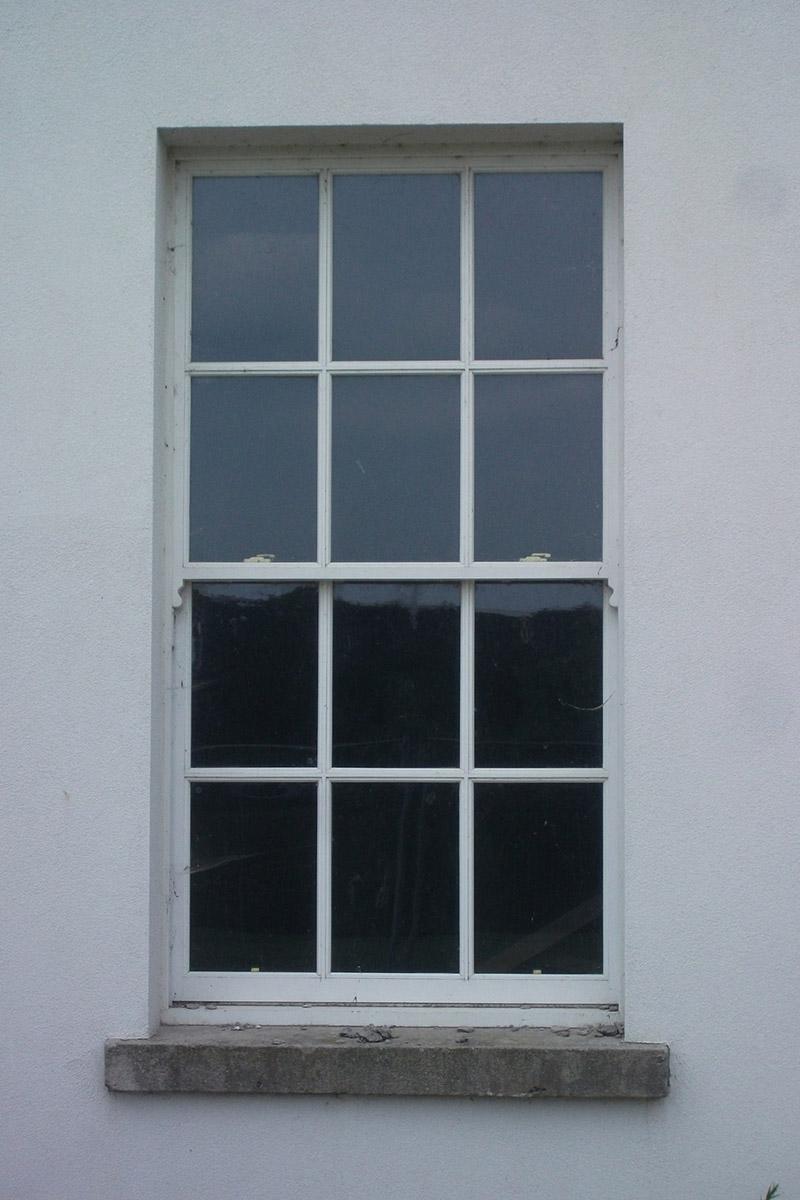 Ground floor window of main house