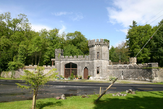 Lough Cutra Castle, LOUGH CUTRA DEMESNE, GALWAY
