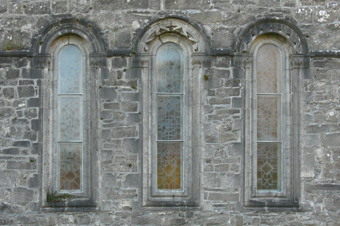 Ballintubber Abbey 03 – East Window (2010)