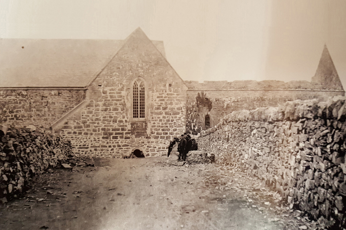 Ballintubber Abbey 08 – Restoration (1889)