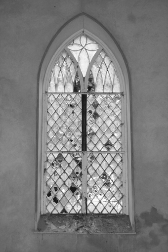 Cahans Presbyterian Church, Monaghan 05 - Window Interior