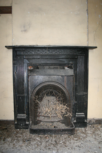 Cahans Presbyterian Church, Monaghan 09 - Chimneypiece
