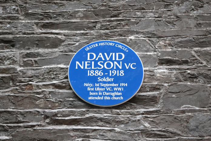 Cahans Presbyterian Church, Monaghan 11 - David Nelson VC (1886-1918)