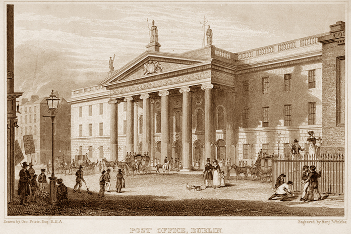 General Post Office Dublin 05 - Post Office Dublin (1831)