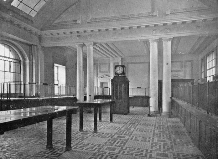 General Post Office Dublin 09 - Public Office (1916)