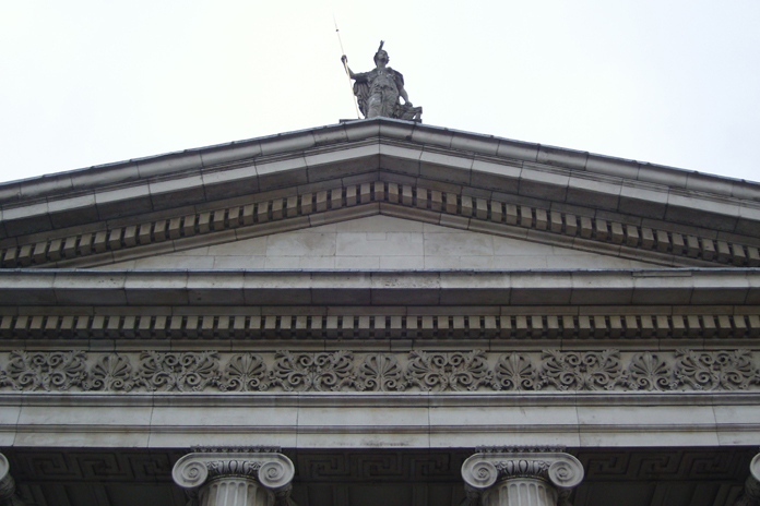 General Post Office Dublin 18 - Pediment