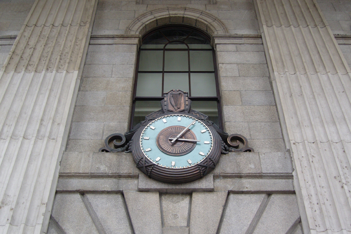 General Post Office Dublin 19 - GPO Clock
