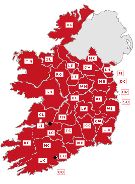 Map Of Ireland Heritage Sites.Building Survey Buildings Of Ireland National Inventory Of