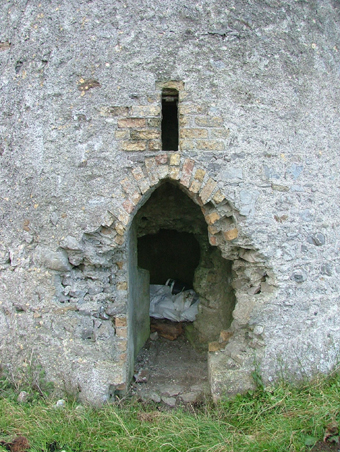 The Tower on Mullagh Hill, Tullamore 03 - Doorcase October 2004