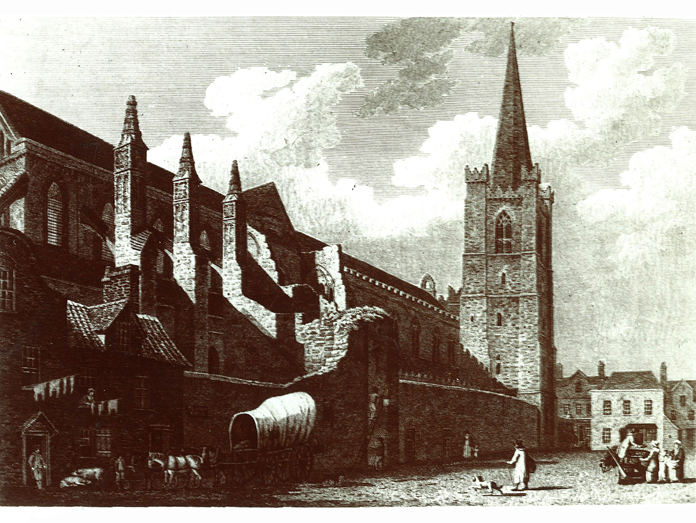 Saint Patrick's Cathedral, Dublin 02 – Pre Guinness Restoration